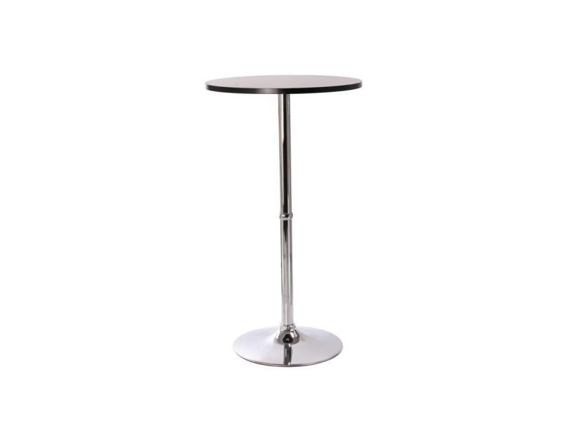 Table Haute De Bar Bistrot Noir 108cm Tab09002 Vente De
