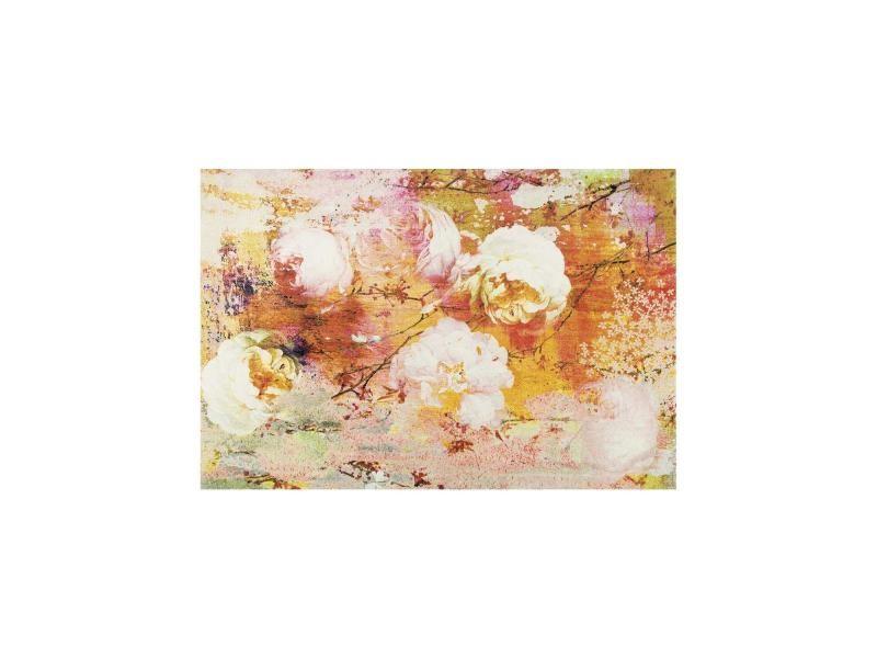 Tapis Chambre Loving Rose Tx Orange 140 X 200 Cm Tapis De Salon Moderne  Design Par