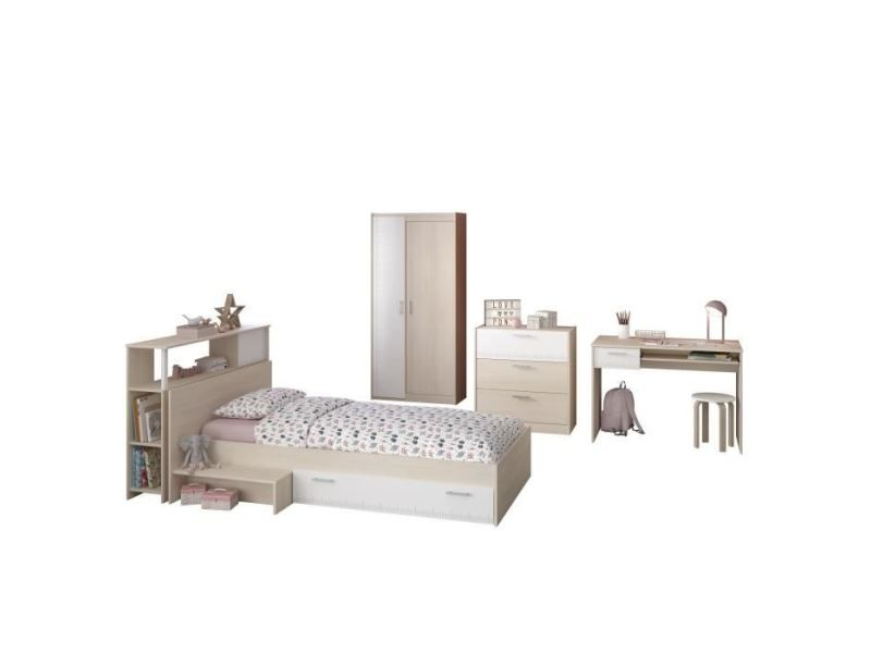 Chambre a coucher complete charlemagne chambre enfant - Chambre a coucher complete conforama ...