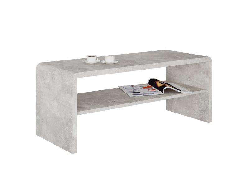 Table Basse Louna Table De Salon Rectangulaire Ou Meuble Tv