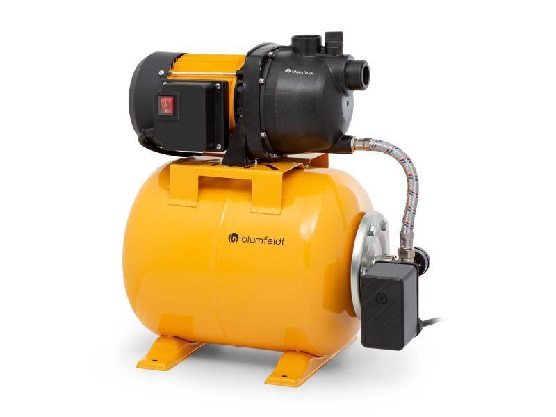 Blumfeldt liquidflow 800 pompe de jardin 800w , hauteur de refoulement 46m , débit 3000 l/h max. , réservoir inox 19 litres PCL8-Liquidflow 800