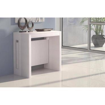 console extensible grandezza ch ne blanc 20100850762. Black Bedroom Furniture Sets. Home Design Ideas