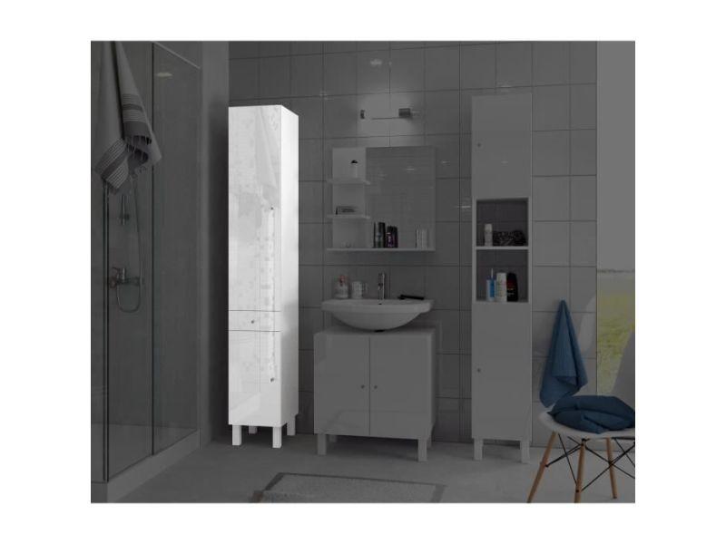 Colonne de salle de bain - armoire de salle de bain corail colonne ...