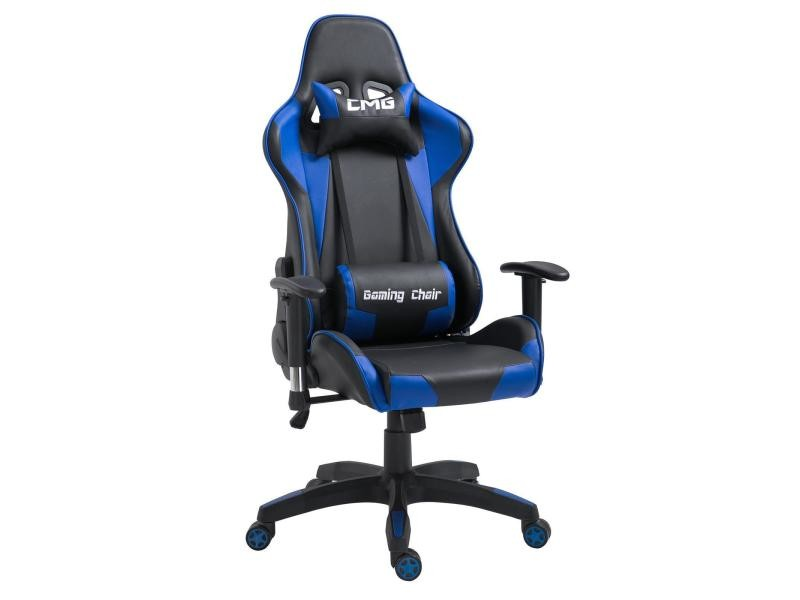 chaise de bureau gaming fauteuil gamer chair style racing racer si ge rev tement synth tique. Black Bedroom Furniture Sets. Home Design Ideas