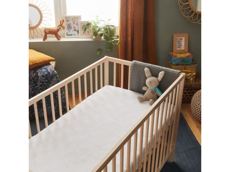 Alese protection matelas bebe alese imperm able bamboo - Protege matelas incontinence ...