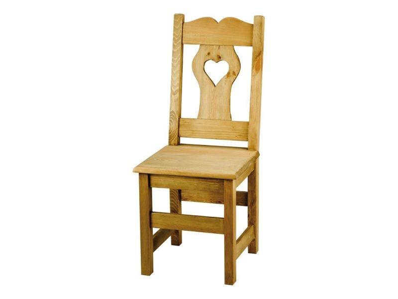 Rustique De 2 Coeur Vente Massif Farmer Avec Gros Chaise En X Pin qpLGSzMUVj