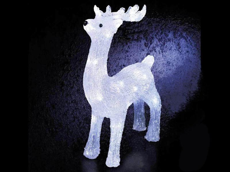 Decoration De Noel Exterieur Lumineuse.Décoration De Noël D Extérieur Lumineuse Renne Vente De