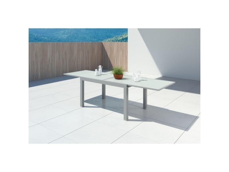 Hara Aluminium Table 10 140280cm De Extensible Xl Jardin Fc3l1TJuK