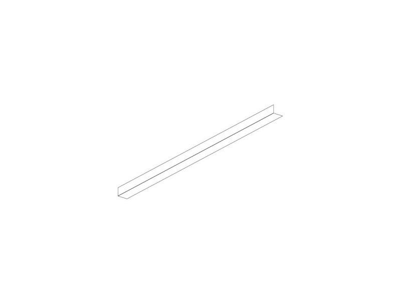 Couple de glissières en l pour table réfrigérée - dalmec -