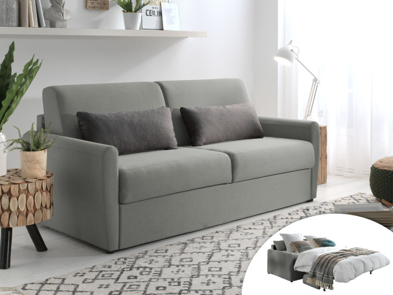 Ari Canape 3 Places Convertible Ouverture Express Couchage