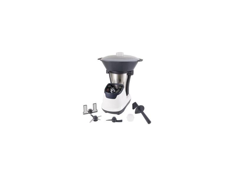 Robot cuiseur multifonctions - purelect tk3 - blanc - moteur 400w, cuisson 800w - 6 vitesses - bol 1,75l PUR4895144423466
