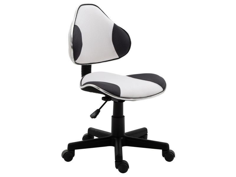 Chaise de bureau pour enfant osaka fauteuil pivotant avec hauteur ...