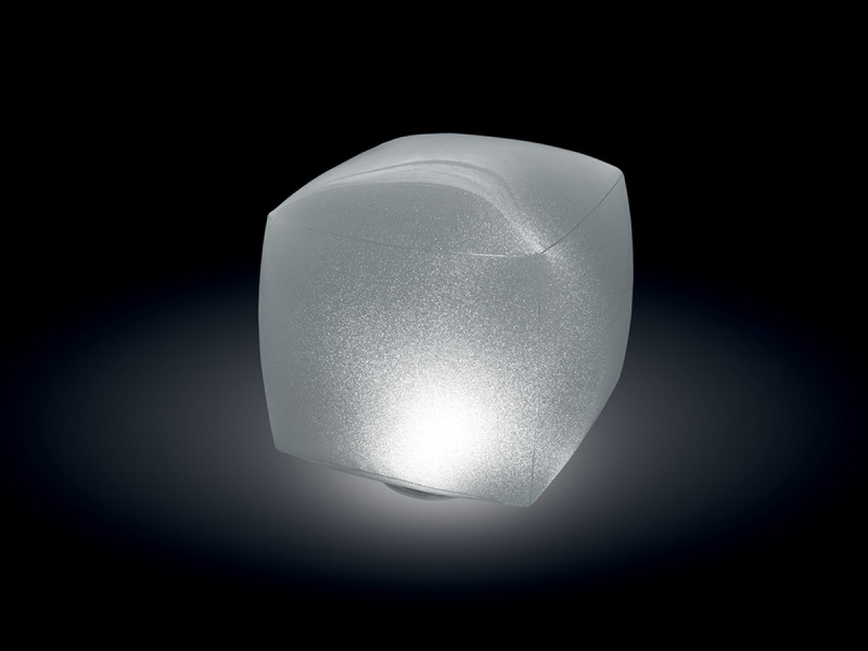 Lampe led flottante cube - intex