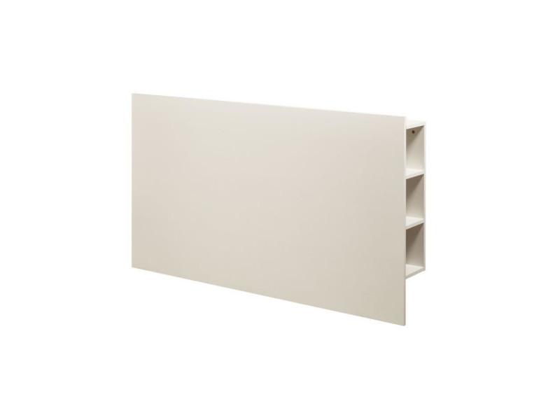 Descarte tete de lit classique - blanc - l 160 cm - Vente de Tête de ...