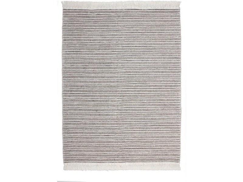 Tapis fait main natura 110 naturel gris 2IHIG-80-150