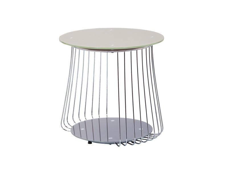 Salma Basse Altobuy Cappuccino Table Conforama Vente De 50 TlK51Fcu3J