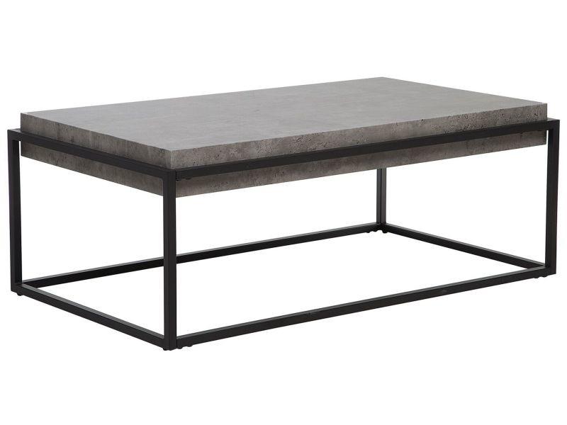 Table basse grise altos 115916