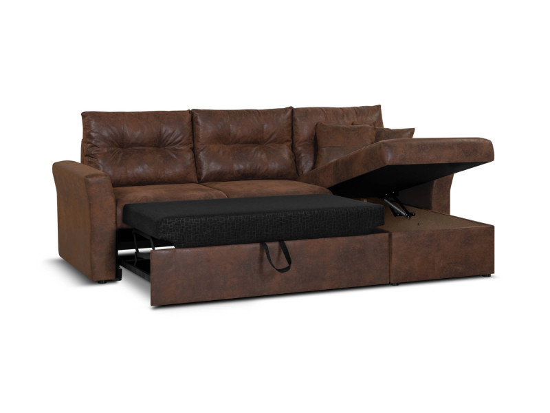 taille 40 c46a5 ae928 midland - canapé d'angle réversible - convertible avec ...