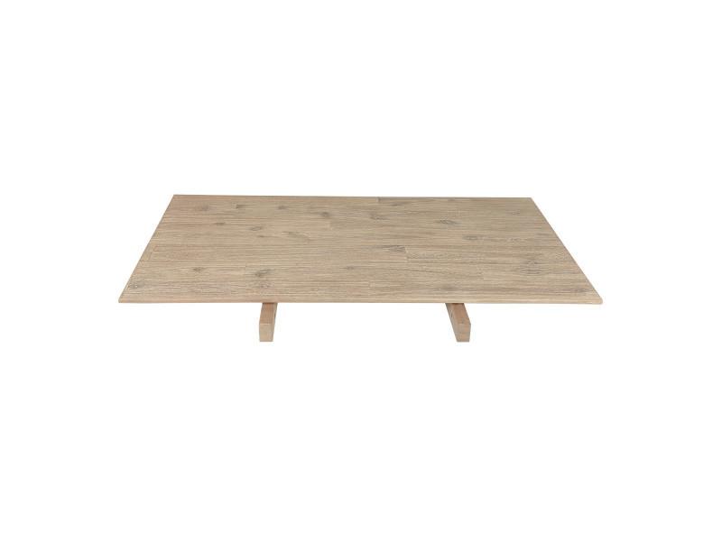 Allonge en bois pour table de 100 cm de large tobago