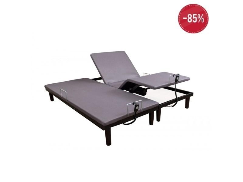 lit electrique samflex - taille - 2x80x200 cm (160x200 cm) - vente