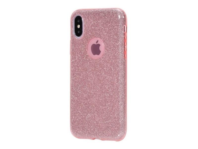 coque iphone xr antichoc rose