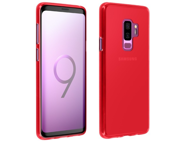 galaxy s9 coque rouge