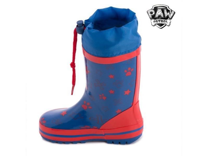 d5a1e1a338fed Bottes de pluie bleues en caoutchouc la pat  patrouille - bottes pour  enfant garçon et fille taille des chaussures - 31