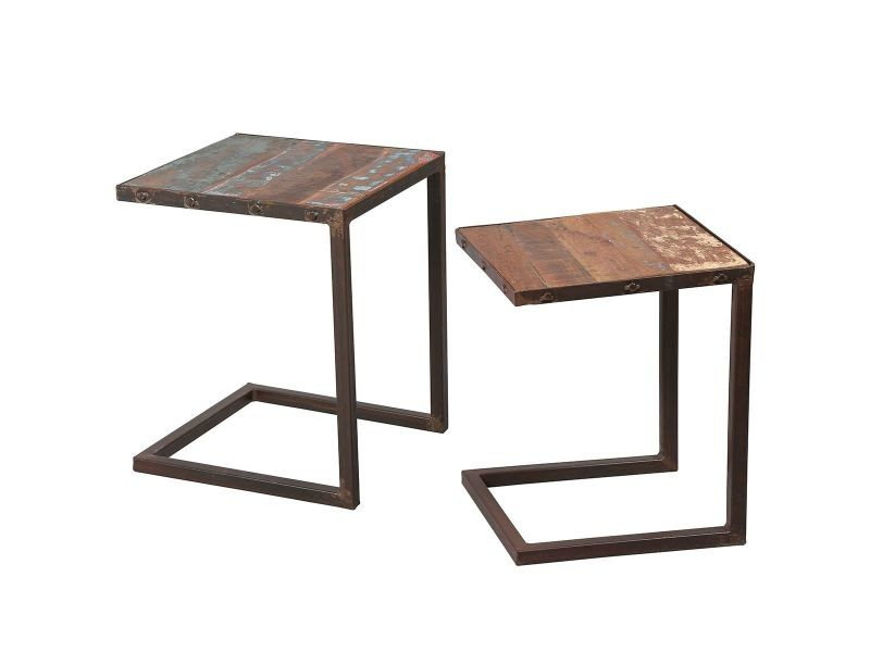 Titiane - tables gigognes carrées