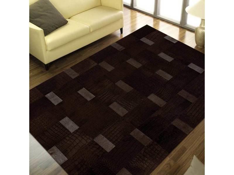 Tapis Chambre Caprice Chocolat Marron 200 X 280 Cm Tapis De Salon Moderne  Design Par Bizarre
