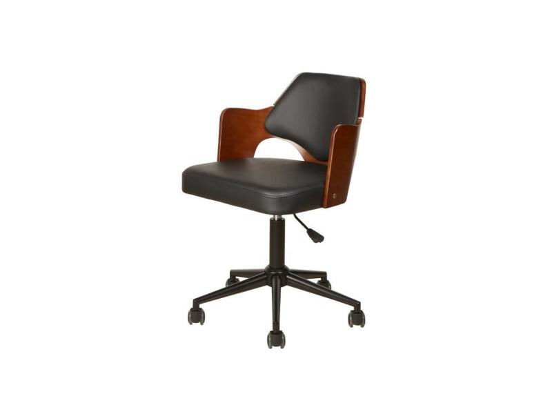 Bobochic Chaise Noir Vente Conforama De Télescopique Work Bureau f7bgy6