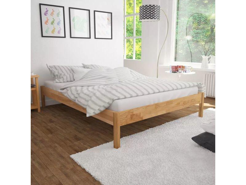 Contemporain lits et accessoires reference sofia cadre de ...