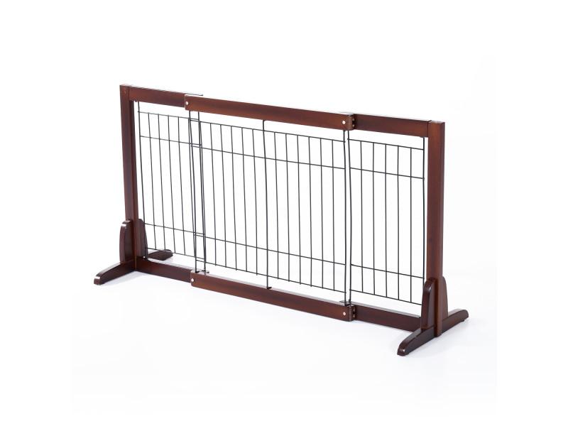 Barrière bois extensible rétractable barrière de sécurité 58 ...