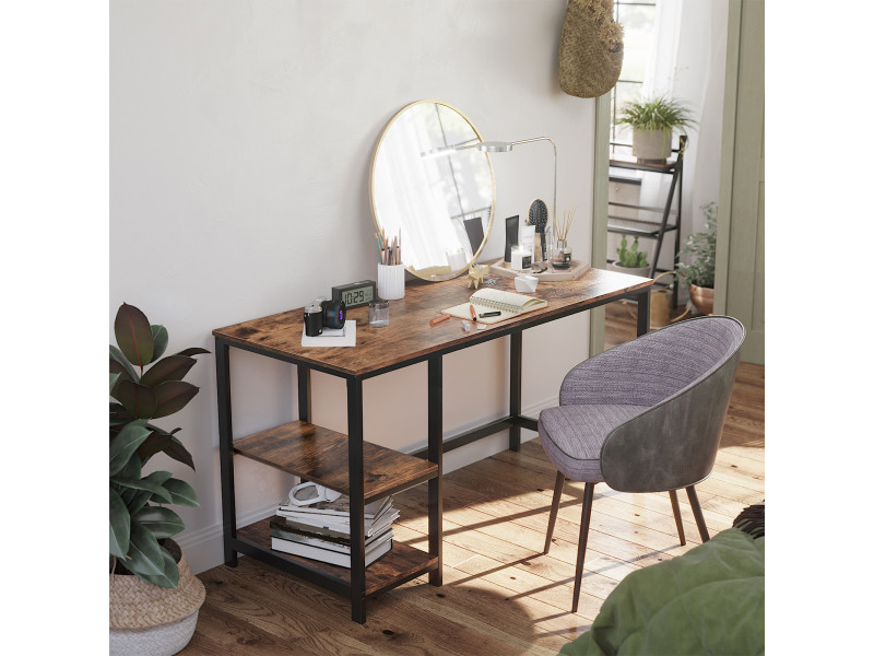 Bureau informatique vintage table d tude table d - Bureau d etude informatique ...