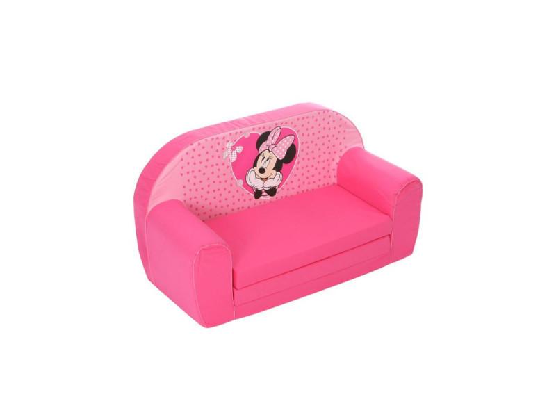 Convertible Vente Conforama Minnie Disney Fauteuil Mousse De zUSMVp