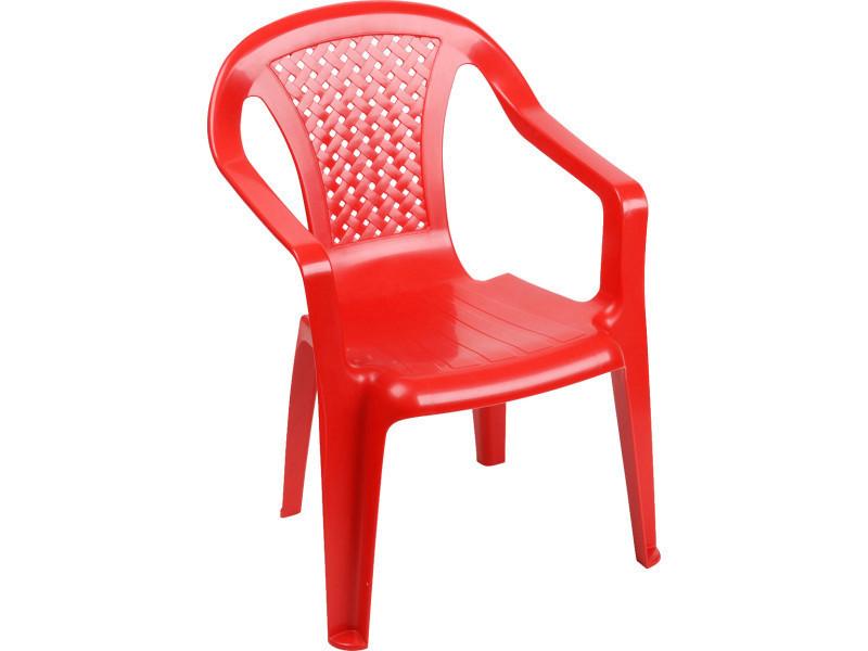 Chaise enfant camélia - rouge