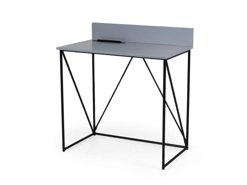 Petit bureau design en bois et métal corsa 9001401812