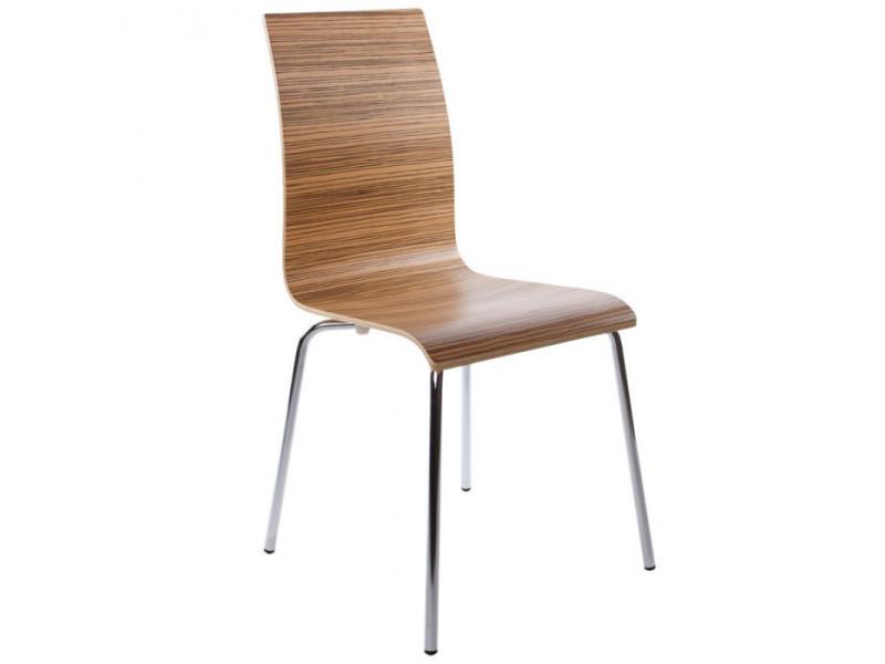 Chaise de classic Vente Chaise design bois Conforama TlKJu1Fc3