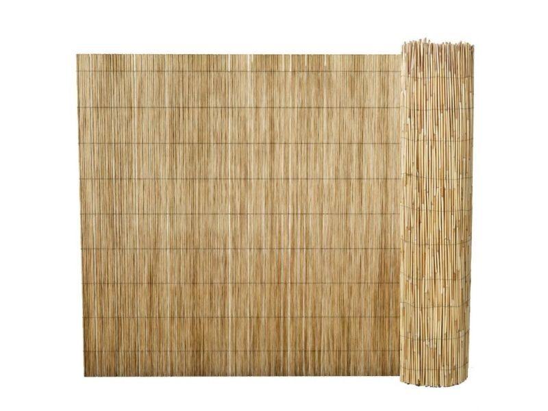 Clôtures et barrières famille alger clôture de roseau 150 x 400 cm ...
