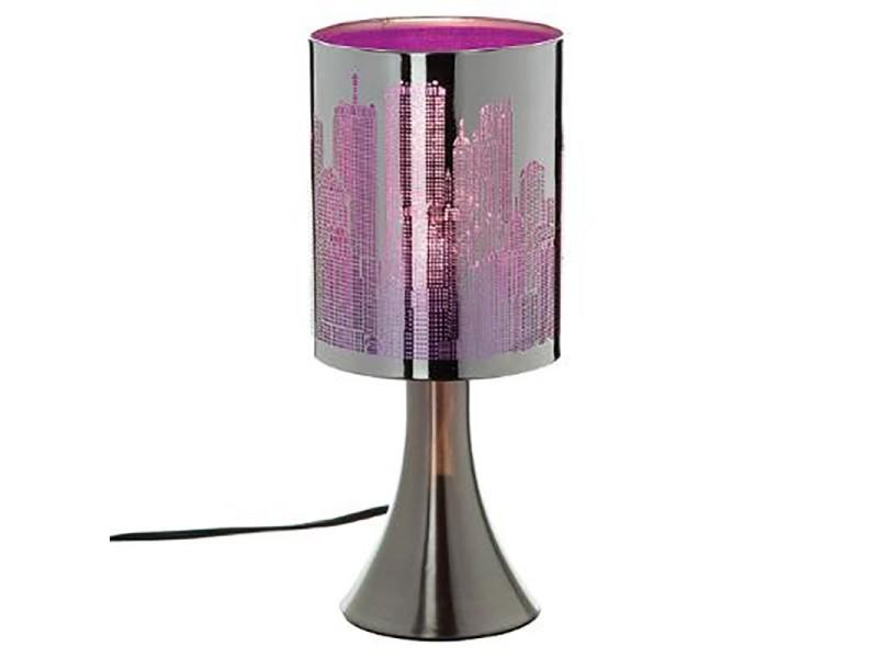 Touch Vente Conforama Jja De City Lampe Violet QCtrdhxs