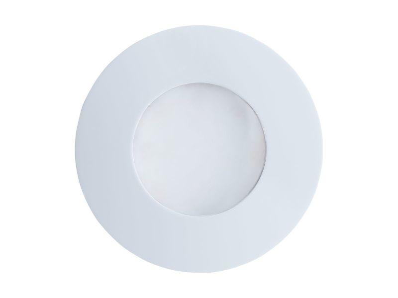 Spot led encastrable margo blanc en aluminium