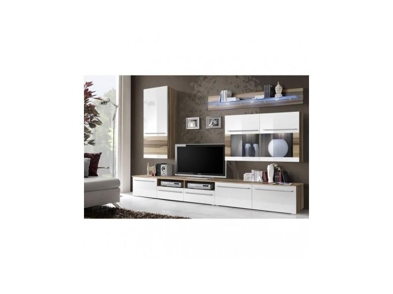 Meuble tv design louma + led pour votre salon.