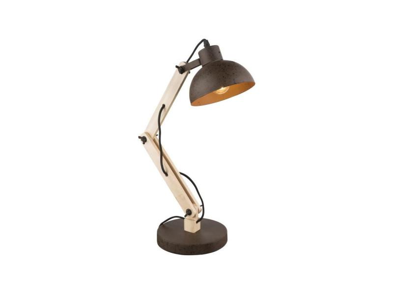 Métal 21500 I Globo Jeff Vente De 417031 Et Bois Lampe Table 5L3jqS4ARc
