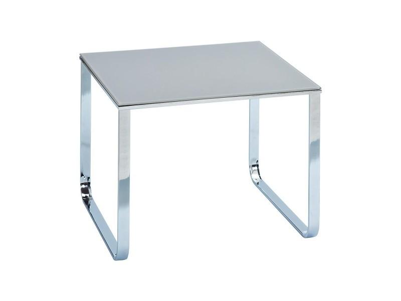Samira - table basse grise
