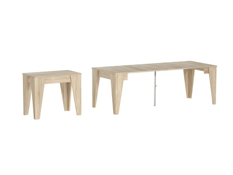 Table Console De Salle A Manger Extensible Avec Rallonges Jusqu A