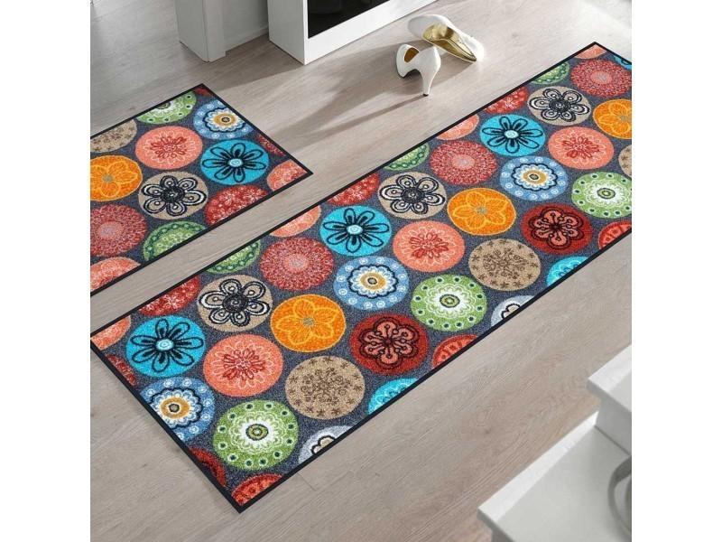 Tapis Chambre Crilos Kt Multicolore 50 X 75 Cm Tapis De Salon