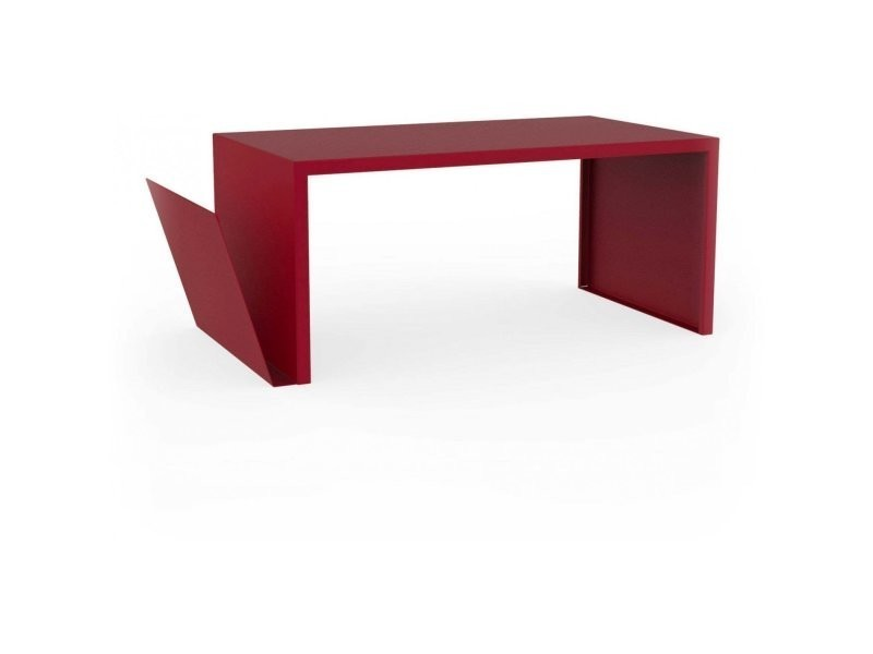 nouveau produit 19c86 f1497 Table basse spirix rouge pourpre TaB_SPX_Pou - Vente de ZHED ...