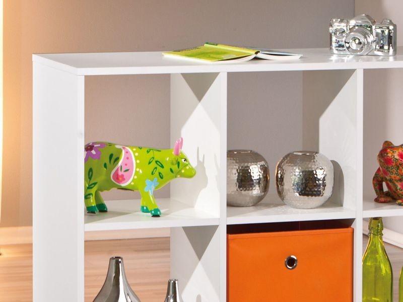 Meuble De Separation Design Carre Coloris Blanc P 813 Co