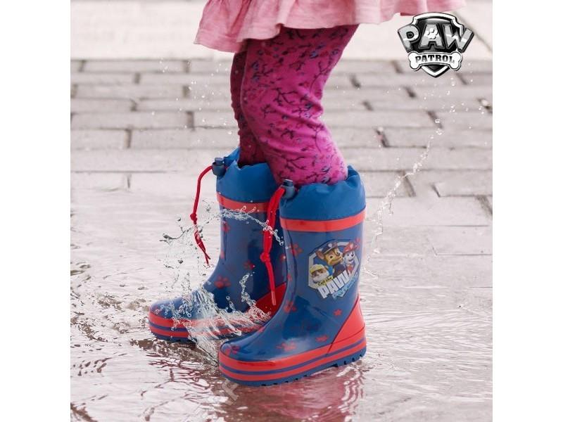 a8ec766a93fe6 Bottes de pluie bleues en caoutchouc la pat  patrouille - bottes pour enfant  garçon et fille taille des chaussures - 31
