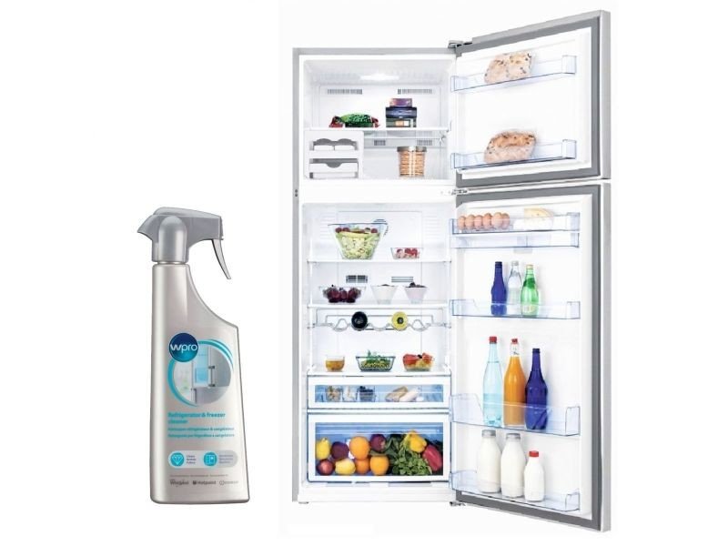 beko refrigerateur frigo double porte inox 510l a froid. Black Bedroom Furniture Sets. Home Design Ideas