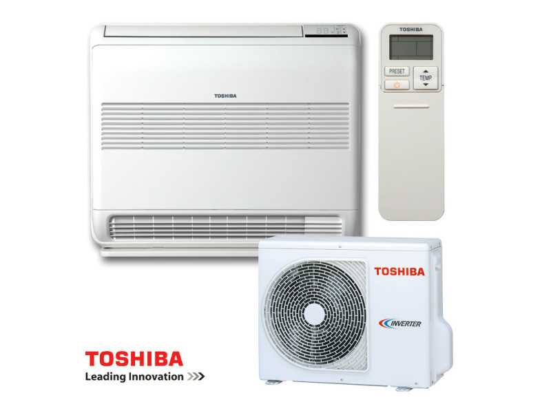 Toshiba bi-flow ras-b13u2fvg-e1 / ras-13pavsg-e 3500w a++/a+